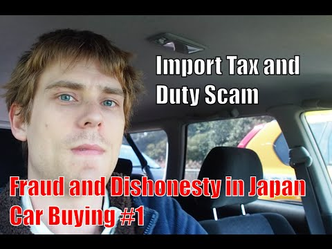 Episode #1 - Fraud and Dishonesty in Japan Car Buying (Import Tax and Duty) - Pacific Coast Auto