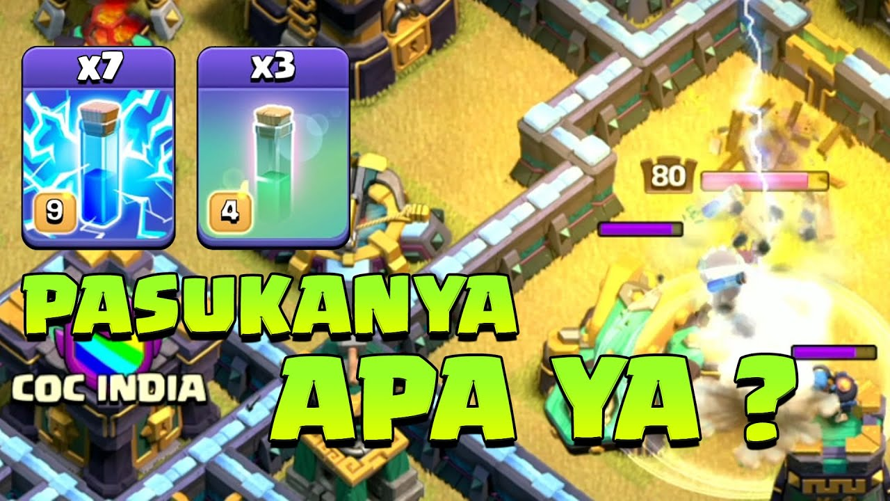 META SPELL EXTREME TOWNHALL 14 COC INDONESIA
