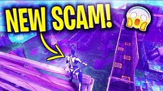 *NEW SCAM* Trap Tunnel Scam BEAWARE! (Scammer Gets EXPOSED) In Fortnite Save The World