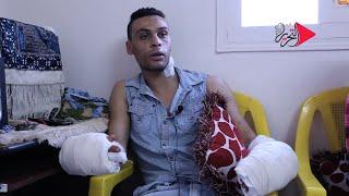 فيديو وصور| على طريقة إبراهيم الأبيض.. بلطجية يمزقون جسد شاب وقريبه بعابدين