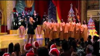 Mariah Carey - Joy to the world (ABC Christmas special)