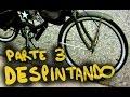 Construyendo una bici retro: Despintando