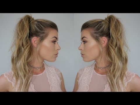 How To: Voluminous High Ponytail w/ Extensions