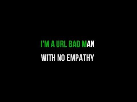 Lily Allen - URL Badman KARAOKE