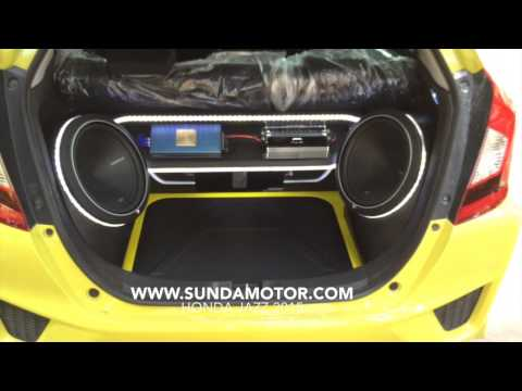 Paket Audio Design Honda Jazz 2015 by SUNDAMOTOR