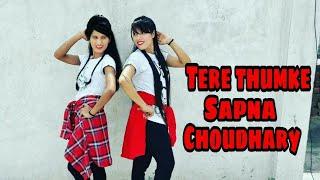 tere thumke sapna choudhary dance cover nanu ki jaanu sapna choudhary abhay deol