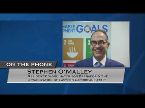Stephen O'Malley (UN Resident Coordinator) on eastern Caribbean states - Press Conference