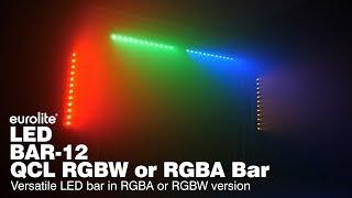 EUROLITE LED BAR-12 QCL in RGBA or RGBW