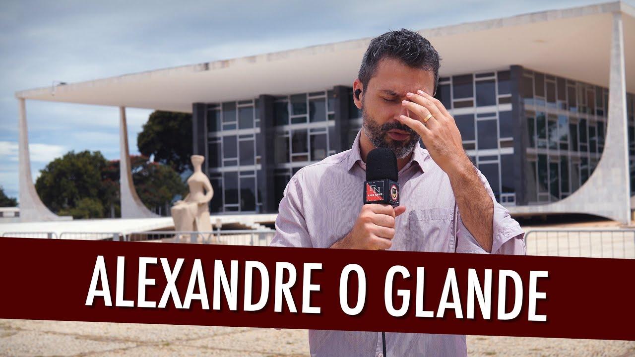"""Celebração no STF para comemorar """"Alexandre, o Glande"""""""