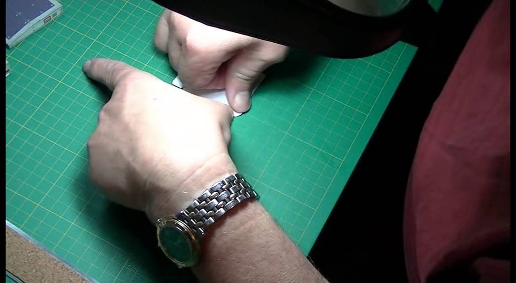 Papercraft Paper Model Part Assembly