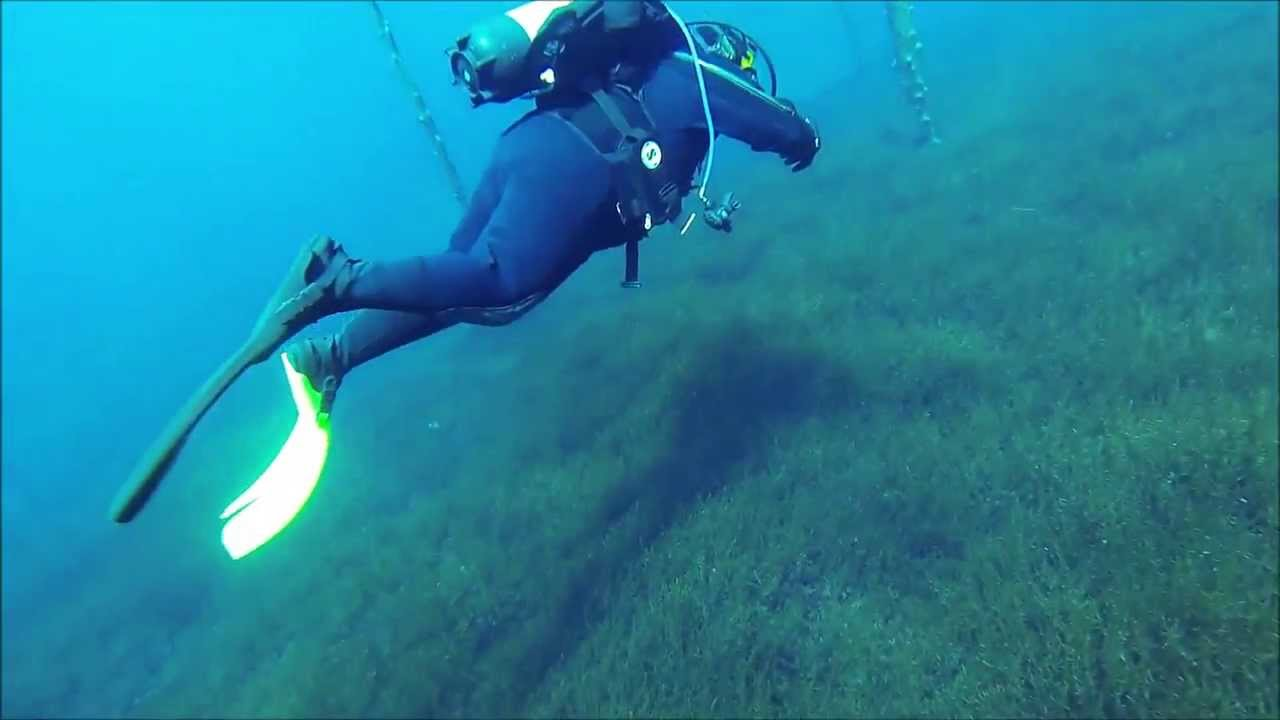 scuba diving clear lake oregon youtube