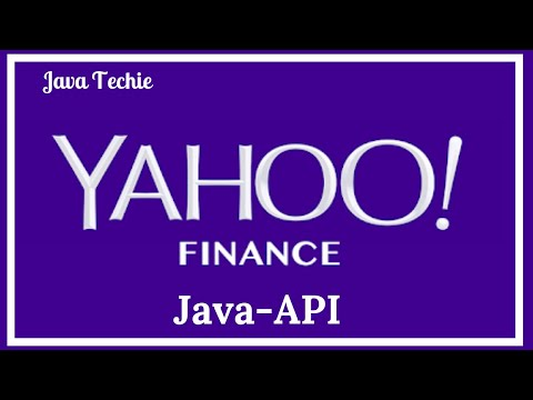YahooFinance for Stock Quote