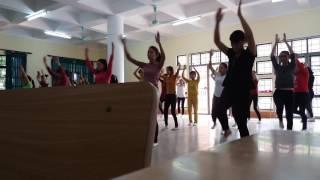 Học múa cho giáo viên mầm non