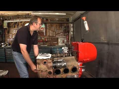 Traktorenrestauration- Einspritzpumpe