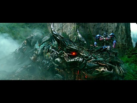 Transformers Age of Extinction  - Dinobots Charge Scene (1080pHD VF)