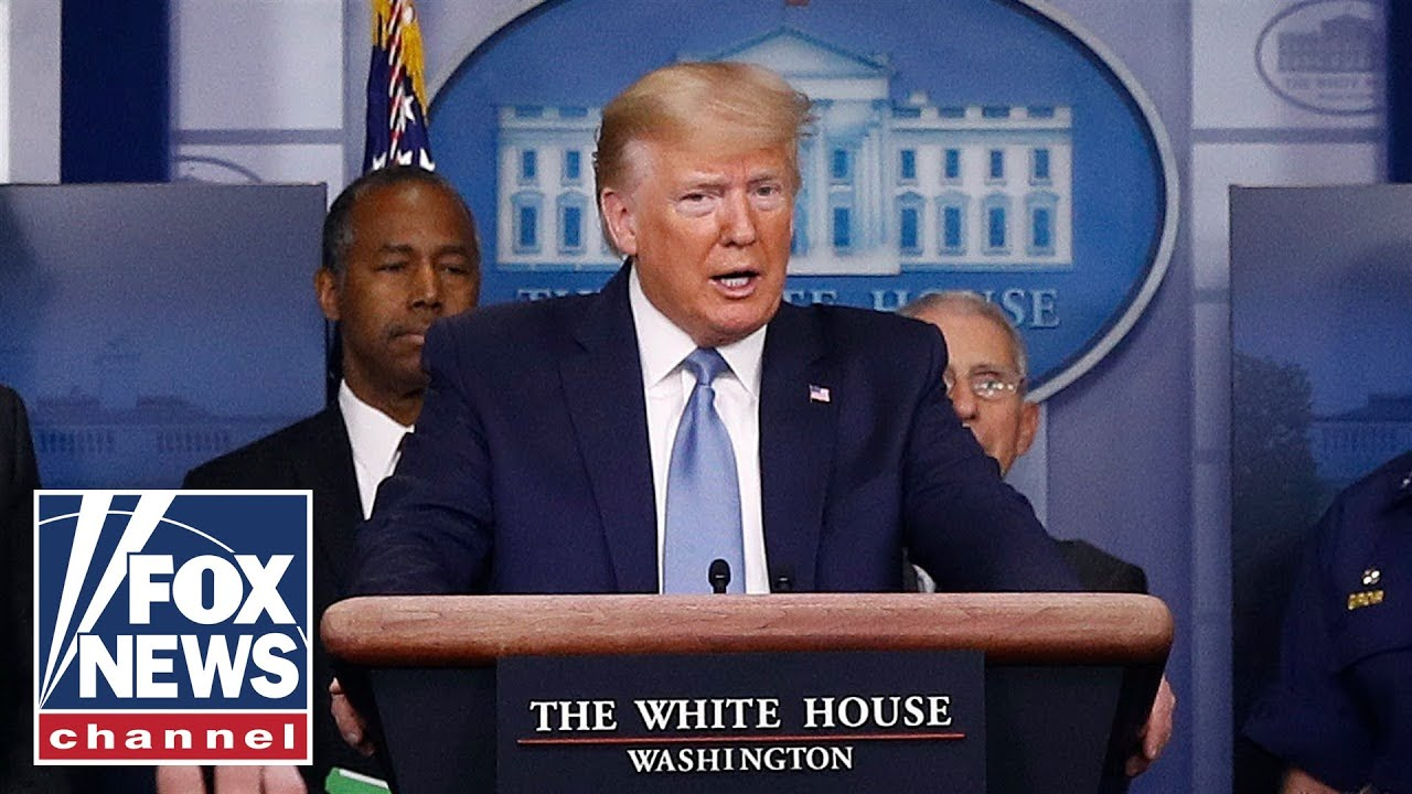 Live: Trump, Coronavirus Task Force hold White House briefing