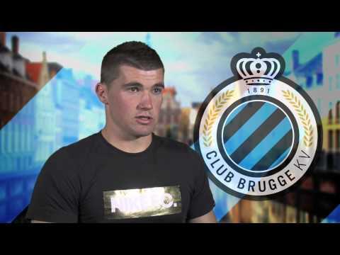 Maty Ryan speakc about Club Brugge
