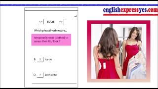 Phrasal Verb Quiz 4 - Improve English Conversation - Take our online Phrasal Verb Quizzes!