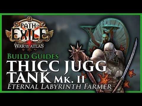 Path of Exile [3.5 - Updated]: THICC JUGG Tank Mk. II - Eternal Lab Farmer - Build Guide