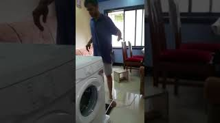 ONIDA WASHING MACHINE FRONT LOAD 5.5 KG UNBOXING