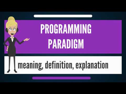 What is PROGRAMMING PARADIGM? What does PROGRAMMING PARADIGM mean? PROGRAMMING PARADIGM meaning