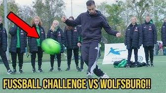 FUSSBALL CHALLENGE VS PROFIS VON MORGEN VOLKSWAGEN JUNIOR MASTERS