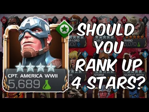 Should You Still Rank Up 4 Stars? - Marvel Contest Of Champions