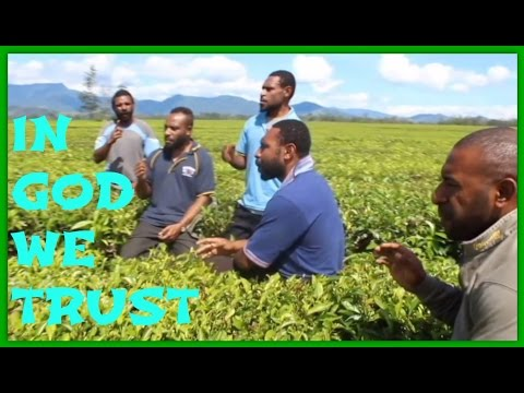 In God we trust - Talented PNG boys (Pacific Gospel Song)