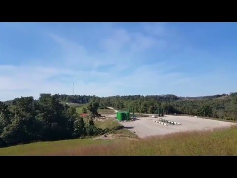 UAS Data Collection of Utica-Marcellus Well Site