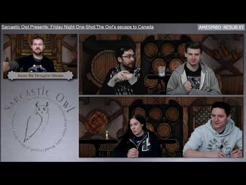 Friday Night One-Shot:The Owl's escape to Canada