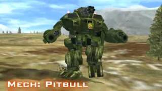 Mechwarrior 4 Mercenaries - The Mechs of Mektek Part I