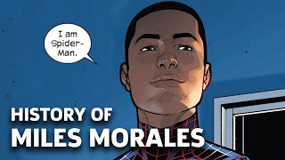 Comics History Of Miles Morales (Spider-Man) | Into The Spider-Verse
