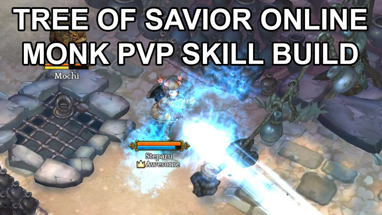 Tree of Savior PvP Monk Skill Build Guide Stats Items Gems