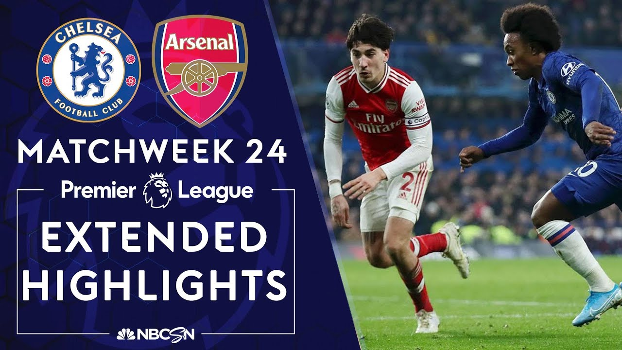 Chelsea v. Arsenal | PREMIER LEAGUE HIGHLIGHTS | 1/21/2020 ...