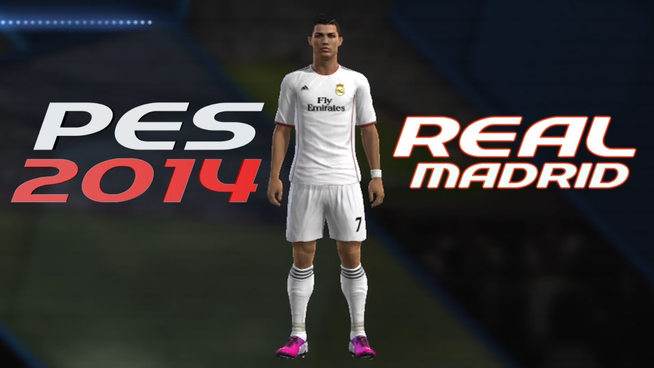 73d823184a1 How to Create Real Madrid Kit in PES 2013 14 Season - YouTube