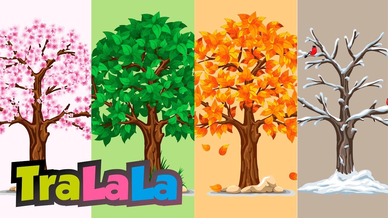 Anotimpurile - Cântece pentru copii | TraLaLa