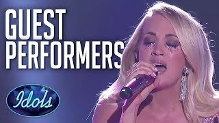 BRILLIANT Guest Performances On Idol!   Including Kelly Clarkson, Little Mix and MORE   Idols Global