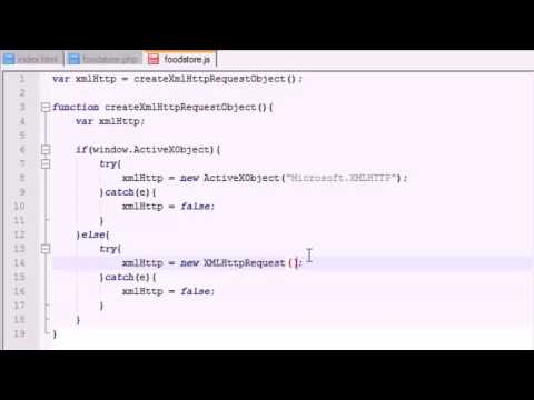 xml - http request   ajax tutorial 6
