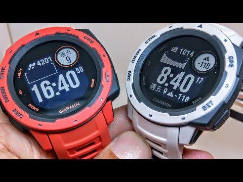 【軍規強悍更有型】Garmin Instinct 本我系列 GPS 腕錶