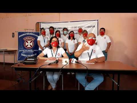 Trabajadores de la Salud anuncian movilizaciones para mañana jueves y el viernes