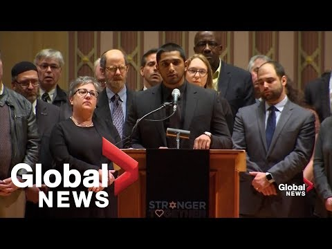 Muslim leader asks Jewish community of Pittsburgh: What do you need?