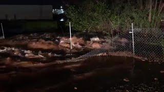 VIDEO: Watch video recorded by first responders to DeKalb water main break
