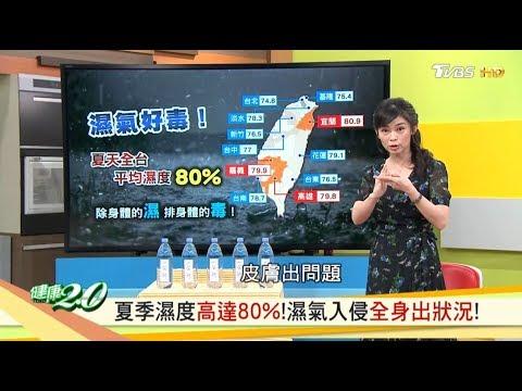 夏季濕度高達80%!濕氣入侵全身出狀況! 健康2.0 20190615 (完整版)