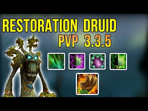 Resto Druid Mini Guide 3 3 5 Pvp Warmane 2020 Youtube