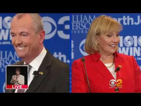 NJ Gubernatorial Debate (Kim Guadagno vs Phil Murphy) 10.18.2017 (2nd & Final Debate)