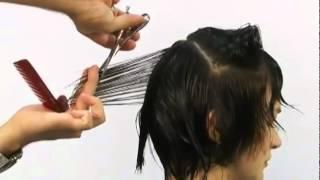 Aprenda o passo a passo corte cabelo cur...