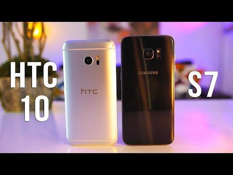Samsung Galaxy S7 Edge vs HTC 10 Comparison! Best Smartphones of 2016?