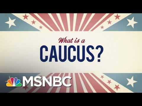 What Is A Caucus? | MSNBC