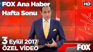 K.Kore Hidrojen bombasını denedi...3 Eylül 2017 FOX Ana Haber Hafta Sonu