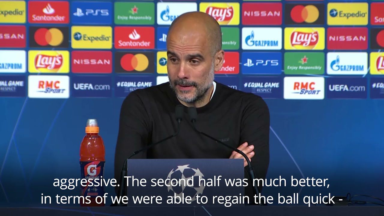 Do not be shy in second leg - Guardiola